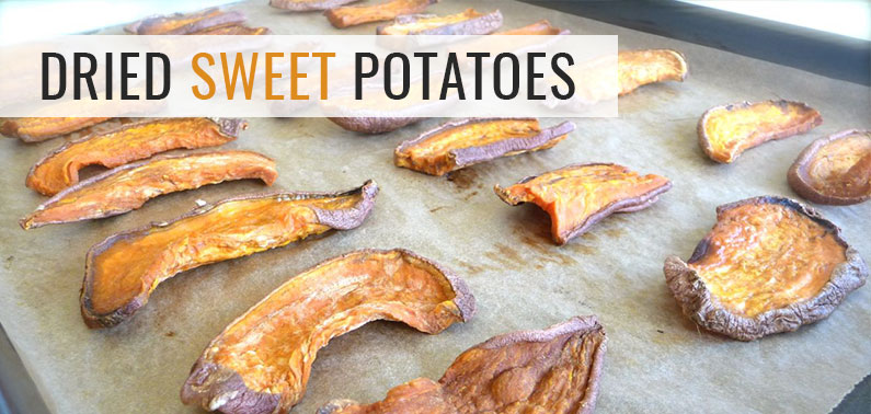Dehydrated Dog Food – Dried Sweet Potatoes