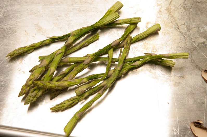 dehydrated asparagus