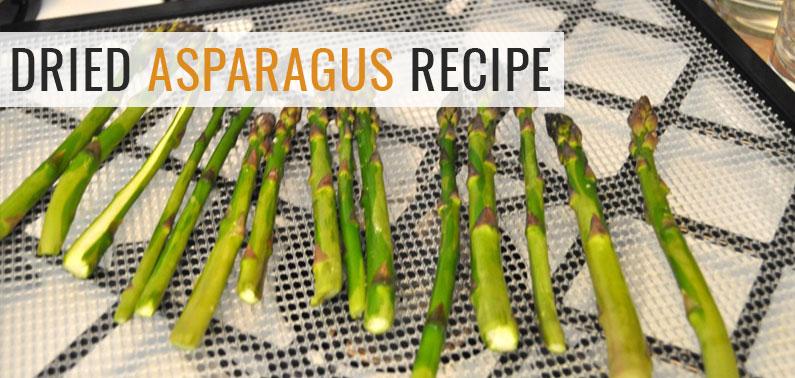 Dried Asparagus
