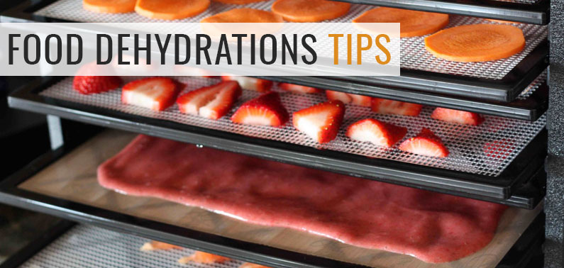 tips for food dehydration