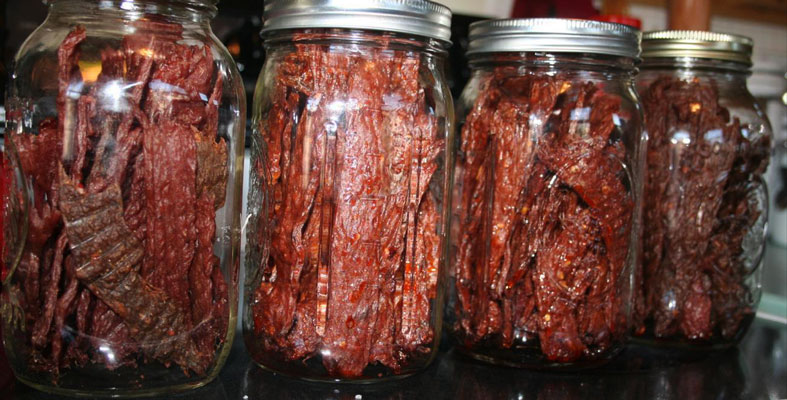 Deer Jerky snacks