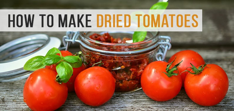 Making a Sun-Dried Tomatoes with a Dehydrator
