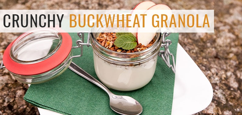 Healthy Breakfast Idea: Crunchy Buckwheat Granola Recipe