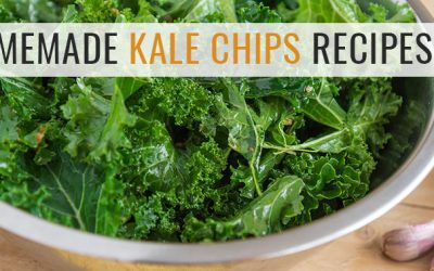 Homemade Dehydrated Kale Chips Recipe