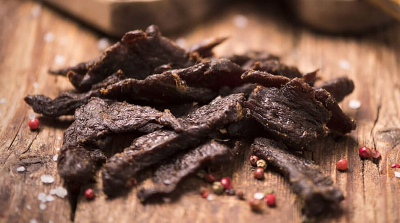 delicious beef jerky
