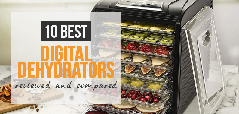 Best Rated Digital Food Dehydrator Reviews for 2020