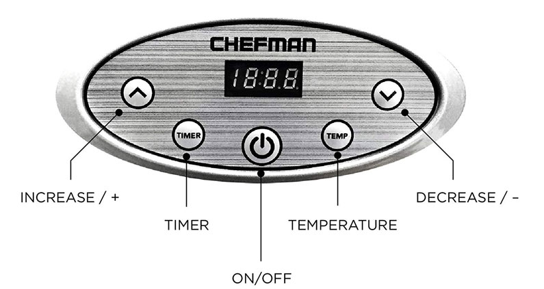 Chefman Adjustable Digital Thermostat