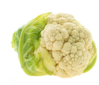 Head of Cauliflower for Jerky