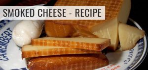 Smoked Cheese in Electric Smoker – Recipe