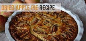 Dried Apple Pie Recipe